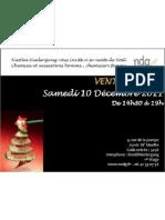 Invitation Vente Privée NNDG