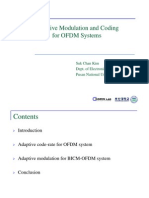 Adaptive Modulation and Coding for OFDM Systems