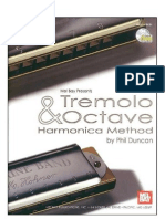 Tremolo and Octave Harmonica Method by Phil Duncan