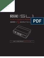 Scratch Live SL 1 2.3 Manual
