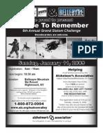 Alzheimer's Race to Remember 2009