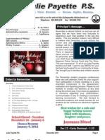 11 Newsletter December3