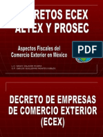 Ecex Altex y Prosec