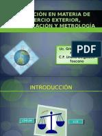RegulaciÓn en Materia de Comercio Exterior, NormalizaciÒn