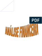 2010 2011  -Teorica - Analise Financeira
