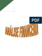 2010 2011  -Teorica - Analise Financeira