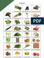 Les légumes traduction