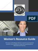 Missouri Women's Council Resource Guide