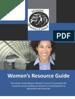 Missouri Women's Council Resource Guide