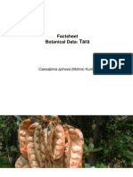 Factsheet Botanical Data