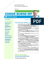 News Bulletin From Conor Burns MP #78