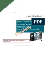 Smart Phone App Market Monitor Vol.4