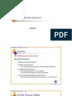 OFDM Synchronization