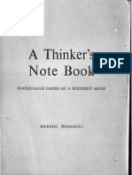 A Thinker's Notebook