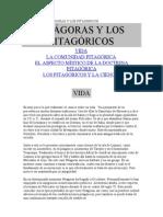 BIOGRAFÍA DE PITÁGORAS Y LOS PITAGÓRICOS