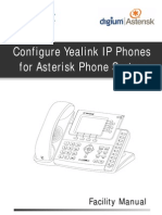 Configure Yealink Phones for Asterisk