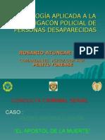 Psicologia Aplicada a La Investigacion Policial de Personas