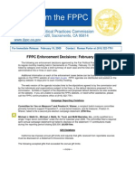 Malik Fined for Violating Campaign Laws |FPPC Press Release 2-19-09