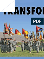 The Historic Transformation of the 1st Armored Division