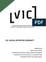 VIC | Empoderamiento Urbano | Think Commons
