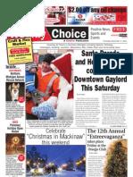 Weekly Choice - December 01, 2011