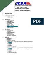 2007 IGSA Rulebook