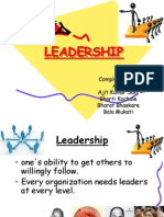 Ppt; Leadership and Motivation