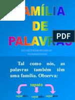 Gramatica Familia de Palavras