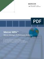 Mercer MPA Brochure