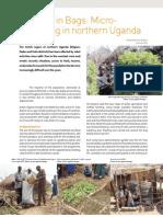 Uganda; Farming in Bags