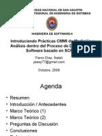 Introduciendo Prácticas CMMI de Medición y Análisis dentro del Proceso de Desarrollo de Software basado en SCRUM