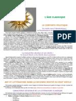 Seminaire 4 - Le classicisme