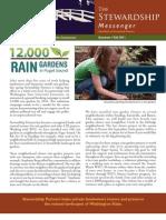 Washington; 12,000 Rain Gardens in Puget Sound - Stewardship Partners
