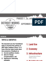 Restructured Feedback Summary | Select Topics | September 2010-May 2011