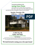 Open House Dec 10 Amazing Grace Home