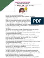 PROJETO DE LITERATURA - Menina Bonita do Laço de Fita