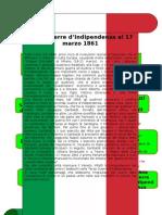 (TESINA) UNITA' D'ITALIA