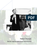 Robert Putnam SocialCaptal and Civic Community
