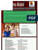 Informativo Abatol - Nov/2011
