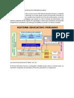 Estructura Del Sistema Educativo Peruano Ley 28044.Docx y Reformas
