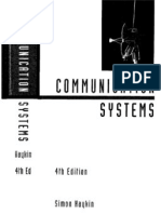 Communication Systems With Solutions Manual