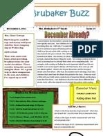 4th Grade Newsletter 12211