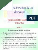 Tabla Periodica de Los Elemtos