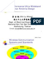 High Performance UWB Planar Antenna Design ProWong NSYSU