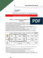 Windows 7 - questões de concursos comentadas - www.informaticadeconcursos.com.br
