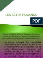 Los Actos Humanos