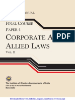 Corporate and Allied Laws Vol. II (Practice Manual)_g1
