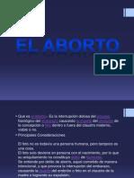 El aborto ANIMACIONES