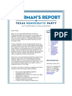 Texas Democrats Your Monthly Briefing