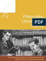 Stanford Philosophy, Literature, and Theory Catalog 2012